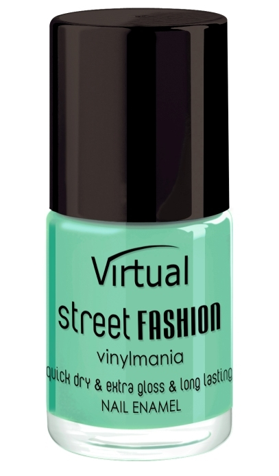 Lac de unghii Mint Cocktail 7 - Virtual Street Fashion