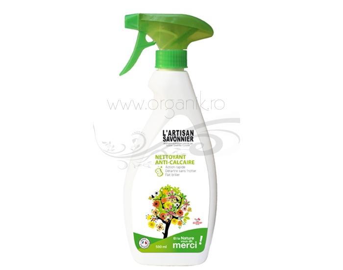 Spray ecologic anticalcar, 500 ml - ARTISAN SAVONNIER
