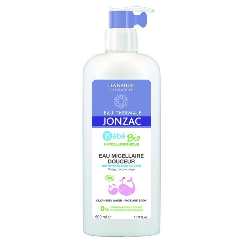 Apa micelara delicata pentru bebelusi BebeBio, 500 ml - JONZAC