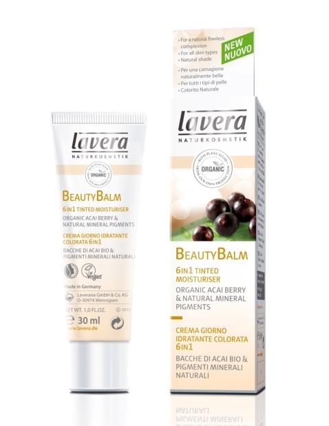 BB Cream Beauty Balm 6 in 1 cu acai berry si pigmenti minerali - LAVERA