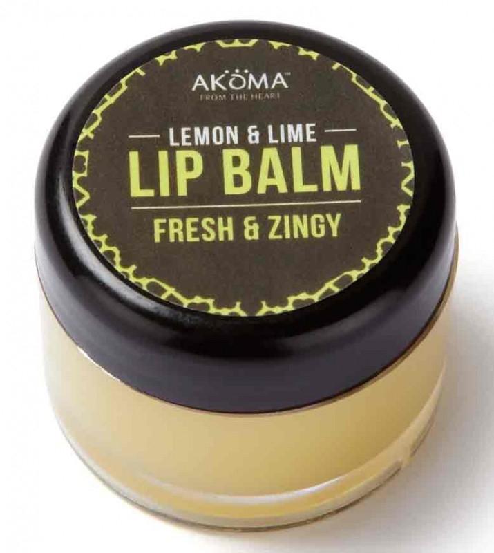 Unt de buze organic cu shea si aroma de lime, 10 ml - Akoma Skincare