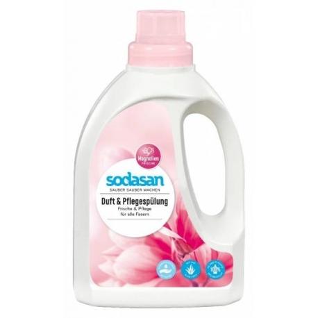 Balsam parfumant ecologic pentru rufe, Magnolie, 750 ml - Sodasan
