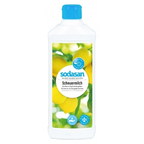 Crema abraziva pentru curatat suprafete solide, 500 ml - Sodasan