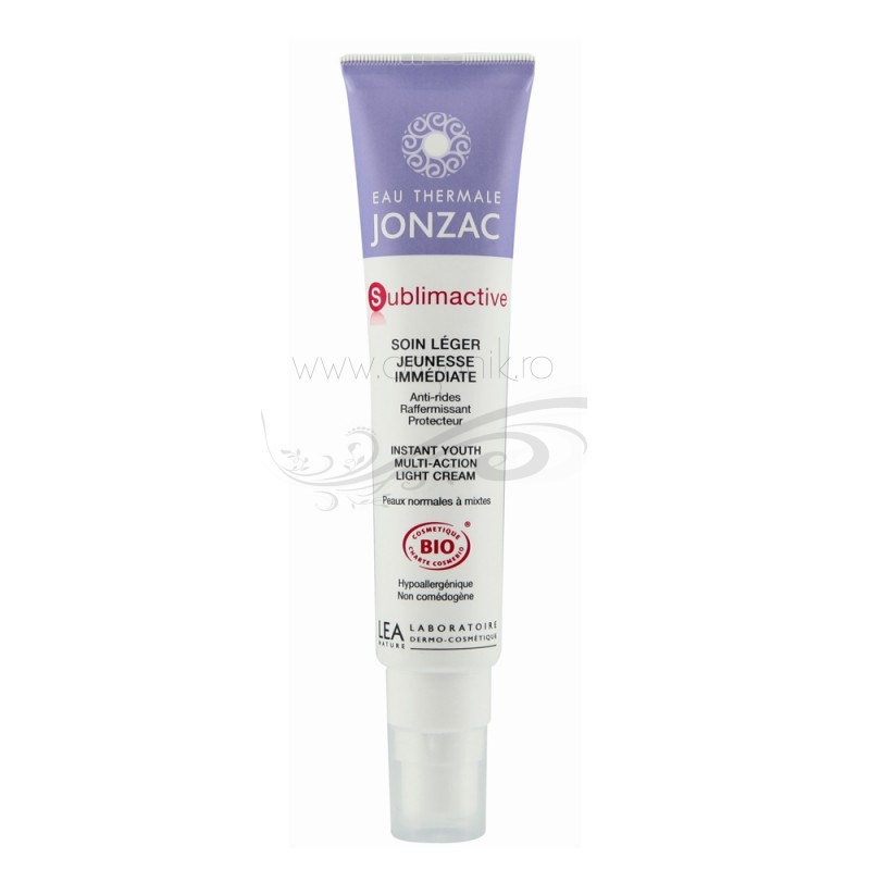 Crema antirid bio pentru ten normal si mixt, Sublimactive - JONZAC