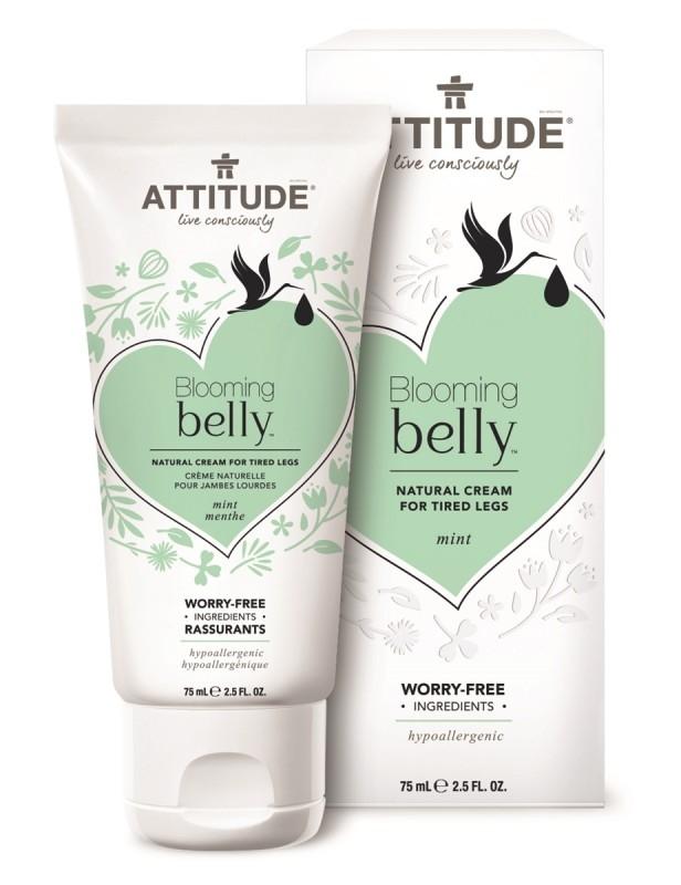 Crema pentru picioare obosite si dureroase Blooming Belly, sarcina si alaptare - ATTITUDE
