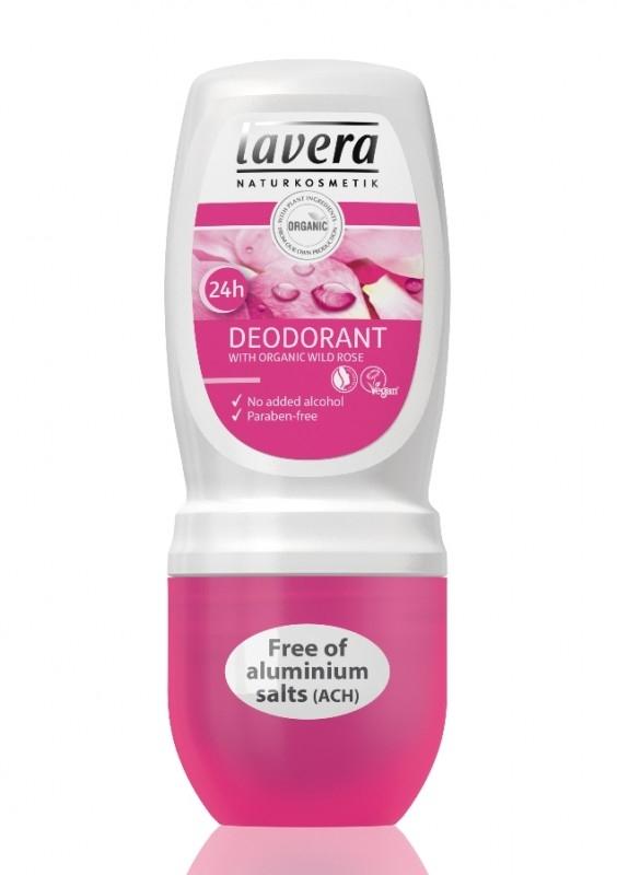 Deodorant roll-n bio fara alcool Trandafiri Salbatici, 50 ml - LAVERA