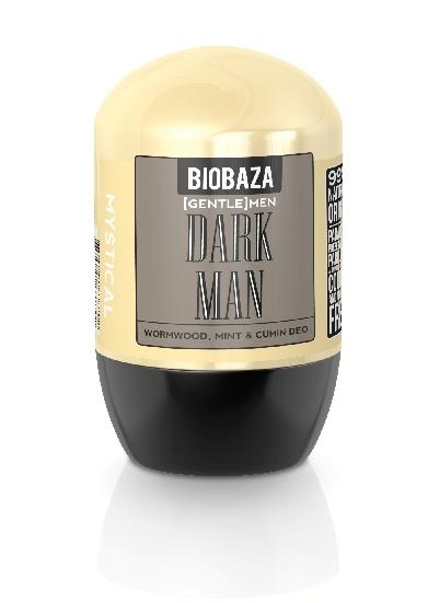 Deodorant natural pentru barbati DARK MEN (menta si chimion) - BIOBAZA