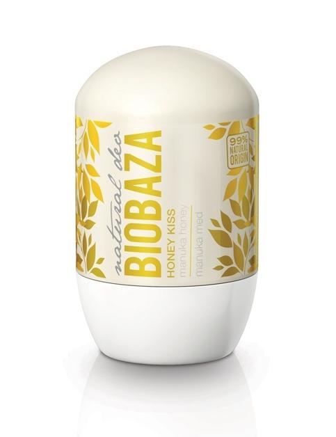 Deodorant natural pentru femei HONEY KISS (miere de Manuka) - BIOBAZA