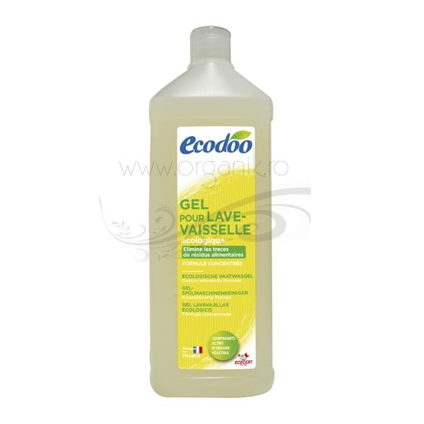 Detergent bio lichid pentru masina de spalat vase, ultraconcentrat 1L - Ecodoo