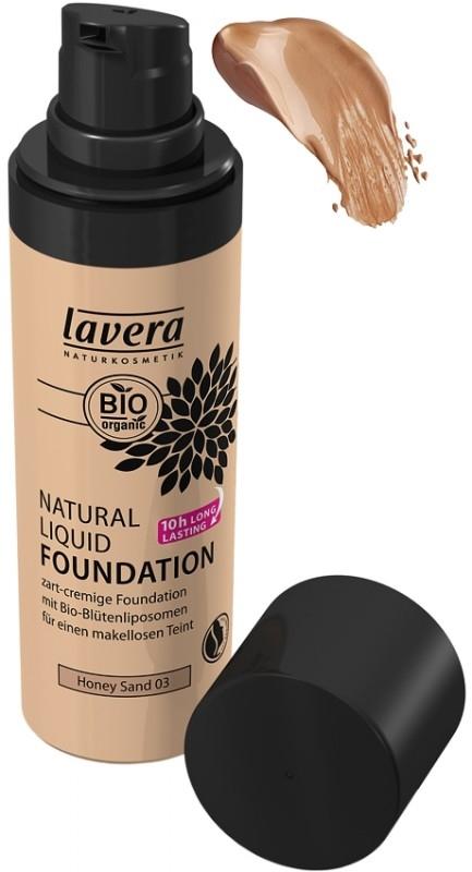 Fond de ten BIO lichid Honey Sand 03 - LAVERA