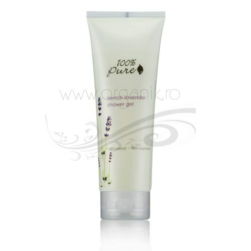 Gel de dus cu aroma de lavanda de Provence, tub 236 ml - 100 Percent Pure Cosmetics