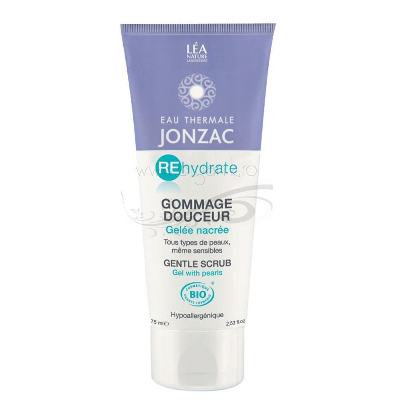 Gomaj delicat pentru toate tipurile de ten, inclusiv sensibil, REhydrate 75ml - JONZAC