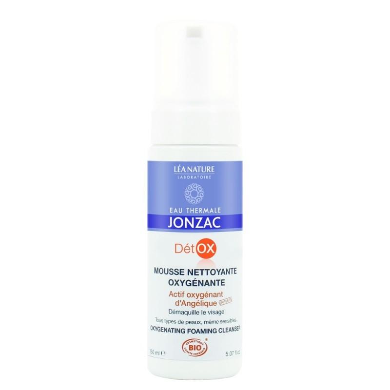 Mousse demachiant oxigenant Detox, 150 ml - JONZAC