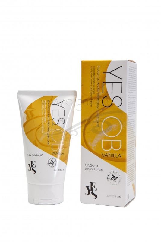 Lubrifiant intim pe baza de ulei, aroma vanilie de Madagascar, 80 ml - YES