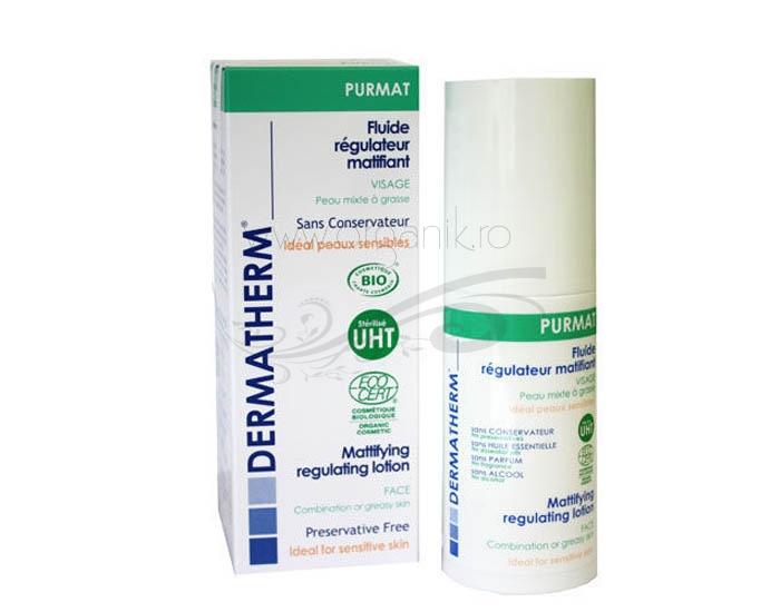 PURMAT Fluid echilibrant matifiant pentru ten gras sau sensibil - Dermatherm