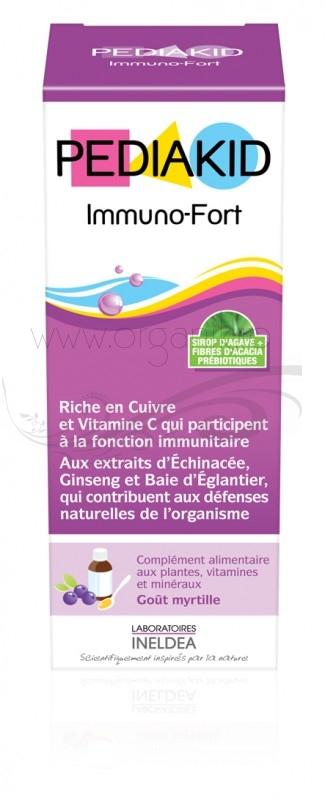 Pediakid IMMUNO - FORT sirop imunitate copii, 125 ml - PEDIAKID