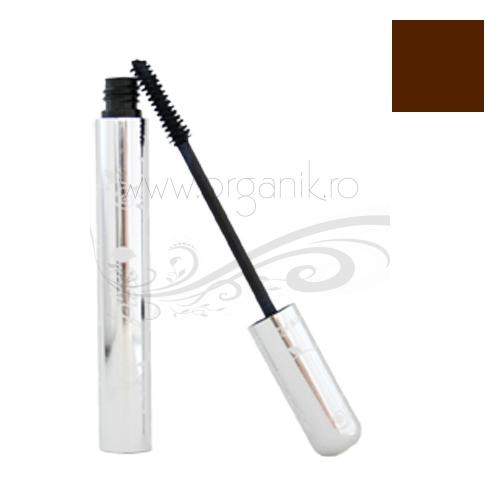 Rimel cu pigmenti din fructe Dark Chocolate (maro inchis) - 100 Percent Pure Cosmetics
