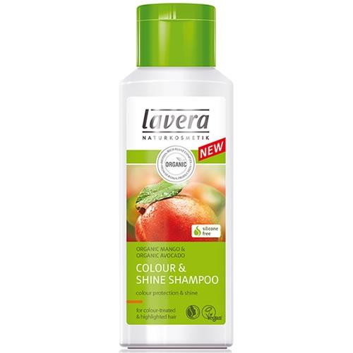 Sampon cu mango si avocado pentru par vopsit, protectia culorii - LAVERA