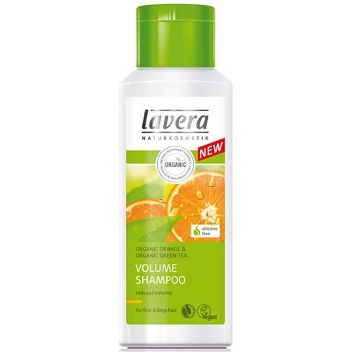 Sampon cu portocale si ceai verde, volum pentru par fin - LAVERA