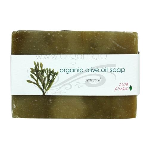 Sapun cu ulei de masline si alge - 100 Percent Pure Cosmetics