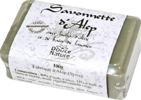 Sapun de Alep 12% ulei de dafin, 100 g - Douce Nature