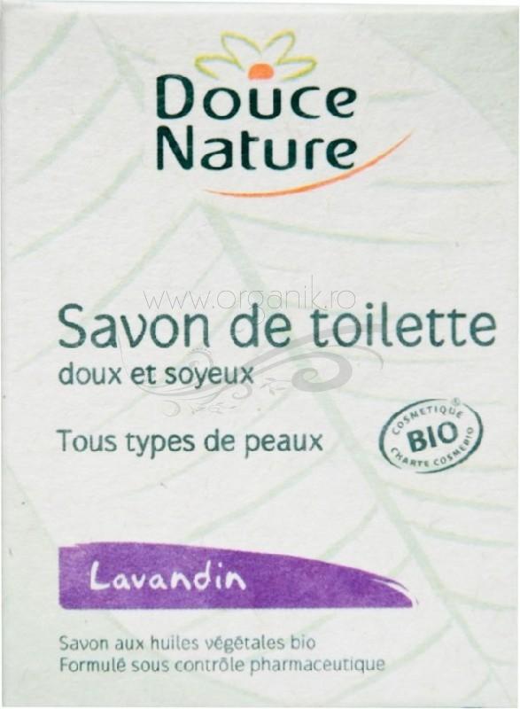 Sapun de toaleta cu levantica, 100 g - Douce Nature