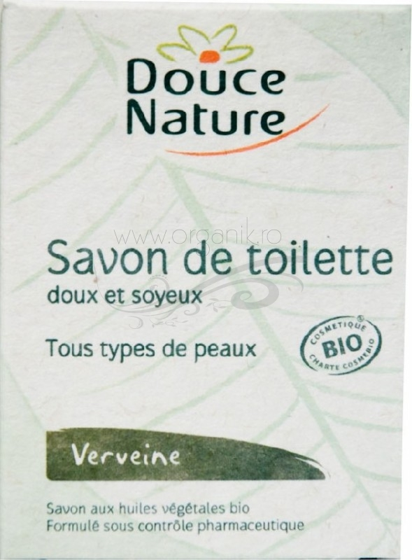 Sapun de toaleta cu verbena, 100 g - Douce Nature