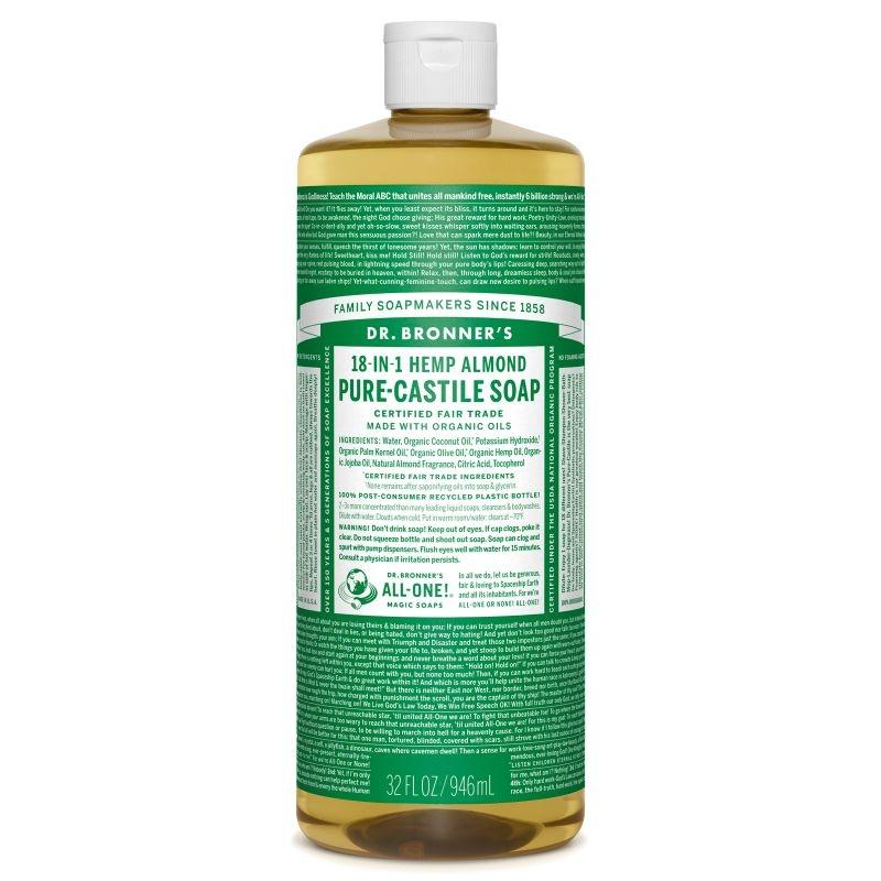 Sapun magic 18-in-1 Migdale, 946 ml - DR. BRONNER
