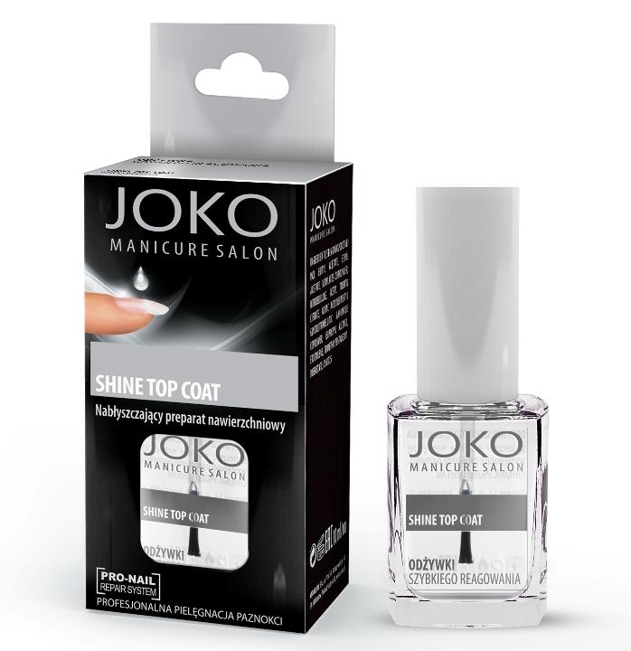 Top coat lucios, cu aspect de gel - Joko