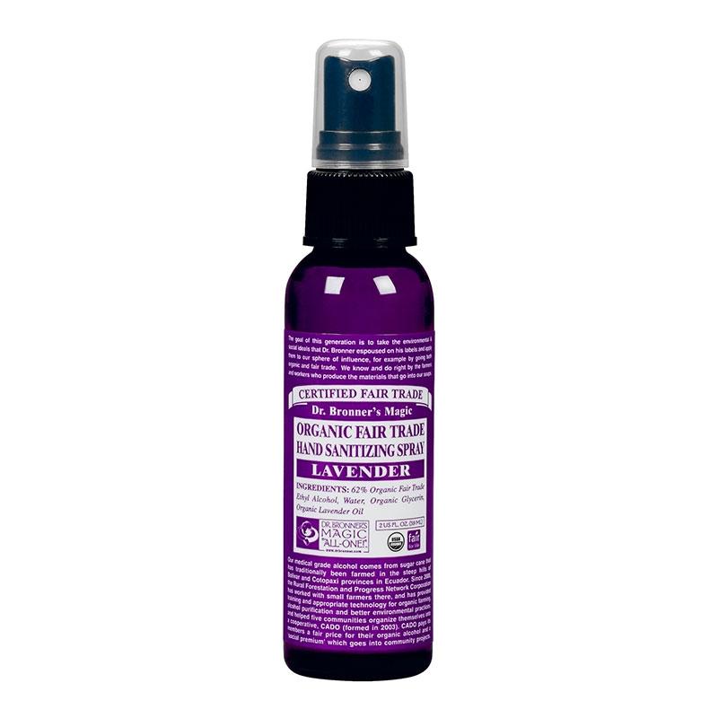 Spray de maini dezinfectant Lavanda, 59 ml - DR. BRONNER