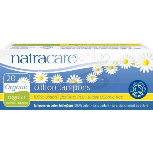 Tampoane NORMAL fara aplicator 20 buc - Natracare