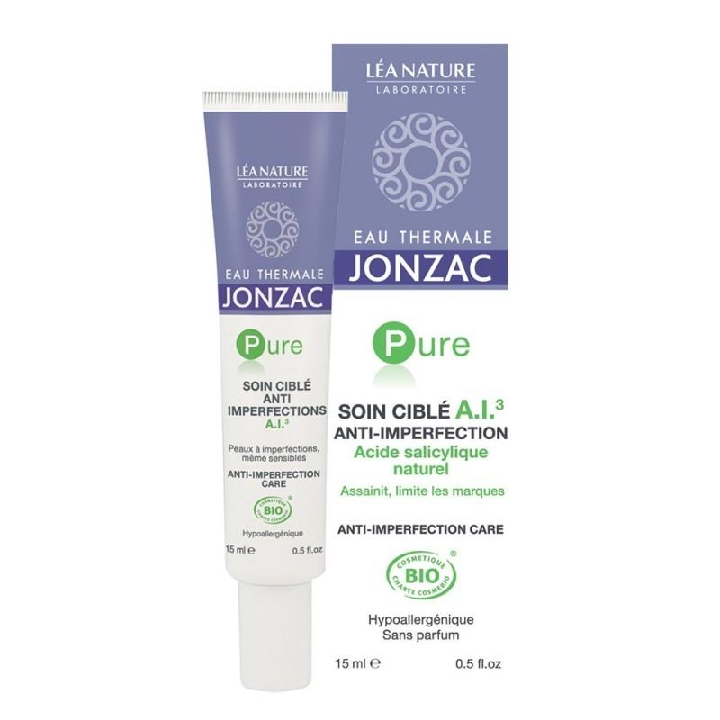 Tratament acnee, imperfectiuni, cicatrici, cu acid salicilic natural - JONZAC