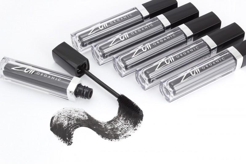 Rimel organic pentru volum intens, Granite (negru) - ZUII Organic