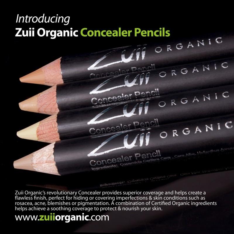 Creion corector organic pentru imperfectiuni, Natural - ZUII Organic