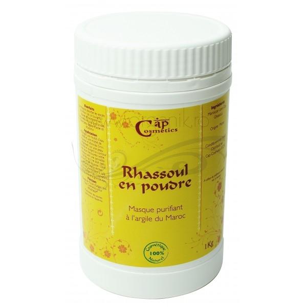 Rhassoul argila cosmetica pudra, 1 kg - CAP Cosmetics