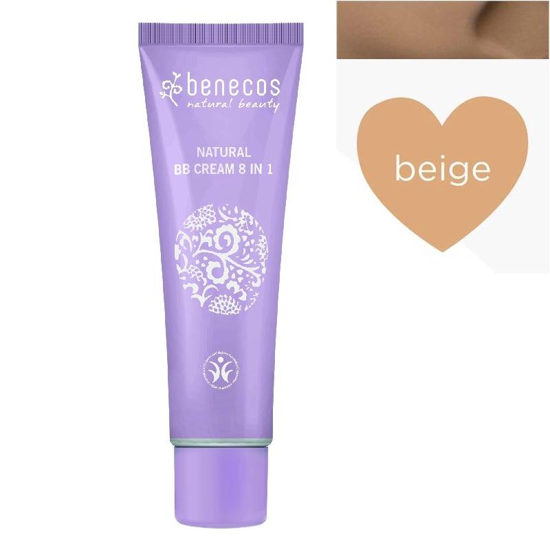 BB Cream natural 8 in 1, BEIGE - Benecos