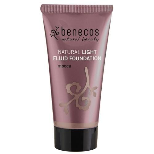 Fond de ten natural light fluid Mocca (ten inchis) - Benecos