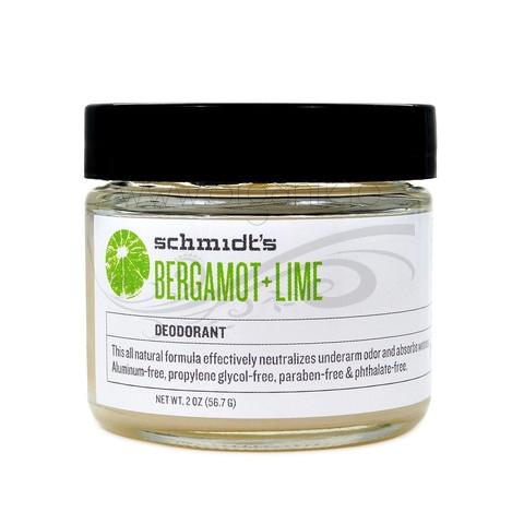 Deodorant natural Bergamot & Lime - Schmidts's Deodorant