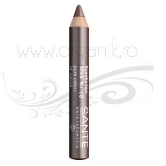 Creion fard pentru pleoape, Coffee 08 - SANTE NATURKOSMETIK