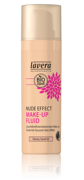 Fond de ten transparent iluminator Nude Effect, Honey Sand 03 - LAVERA