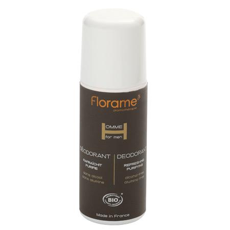 Deodorant roll-on BIO pentru barbati - Florame
