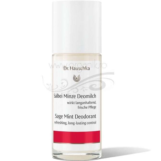 Deodorant roll-on natural cu salvie, 50 ml - Dr. Hauschka