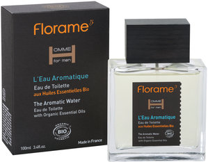 Apa de toaleta bio pentru barbati Aromatique, 100 ml - Florame