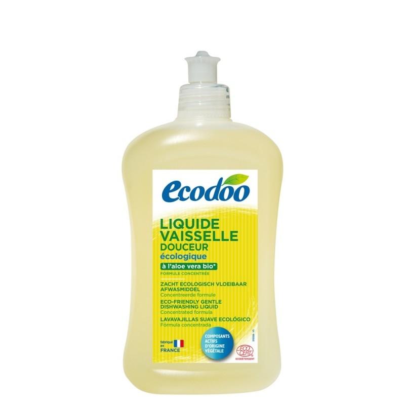 Detergent de vase ecologic cu aloe vera, 500 ml - Ecodoo