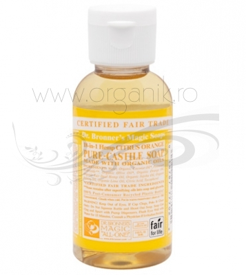 Sapun magic 18-in-1 Citrice, 59 ml - DR. BRONNER