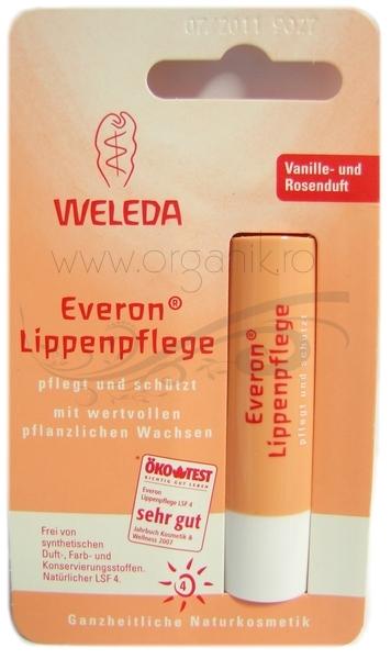 Balsam de buze Everon cu factor protectie solara 4 - Weleda