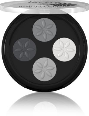 Fard de pleoape quattro Smokey Grey 01 - LAVERA