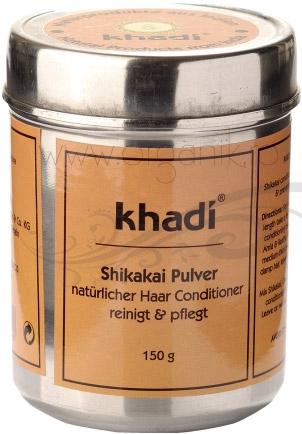 Shikakai pudra, sampon si balsam natural - Khadi