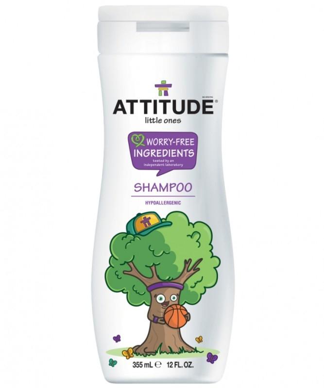 Sampon eco pentru copii Sparkling Fun, 355 ml - ATTITUDE