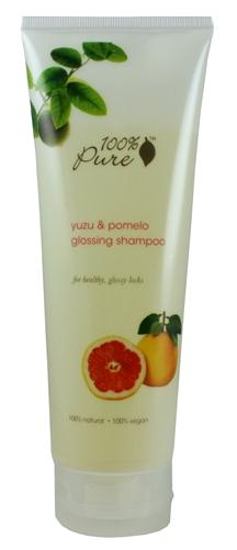 Sampon pentru stralucire cu extract de yuzu si pomelo - 100 Percent Pure Cosmetics